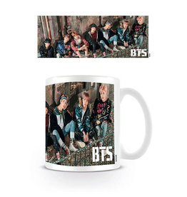 Hole In The Wall mug - BTS - Confetti