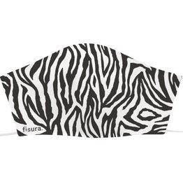 Fisura reusable face mask - adult - zebra