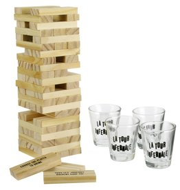 drinking game - tower