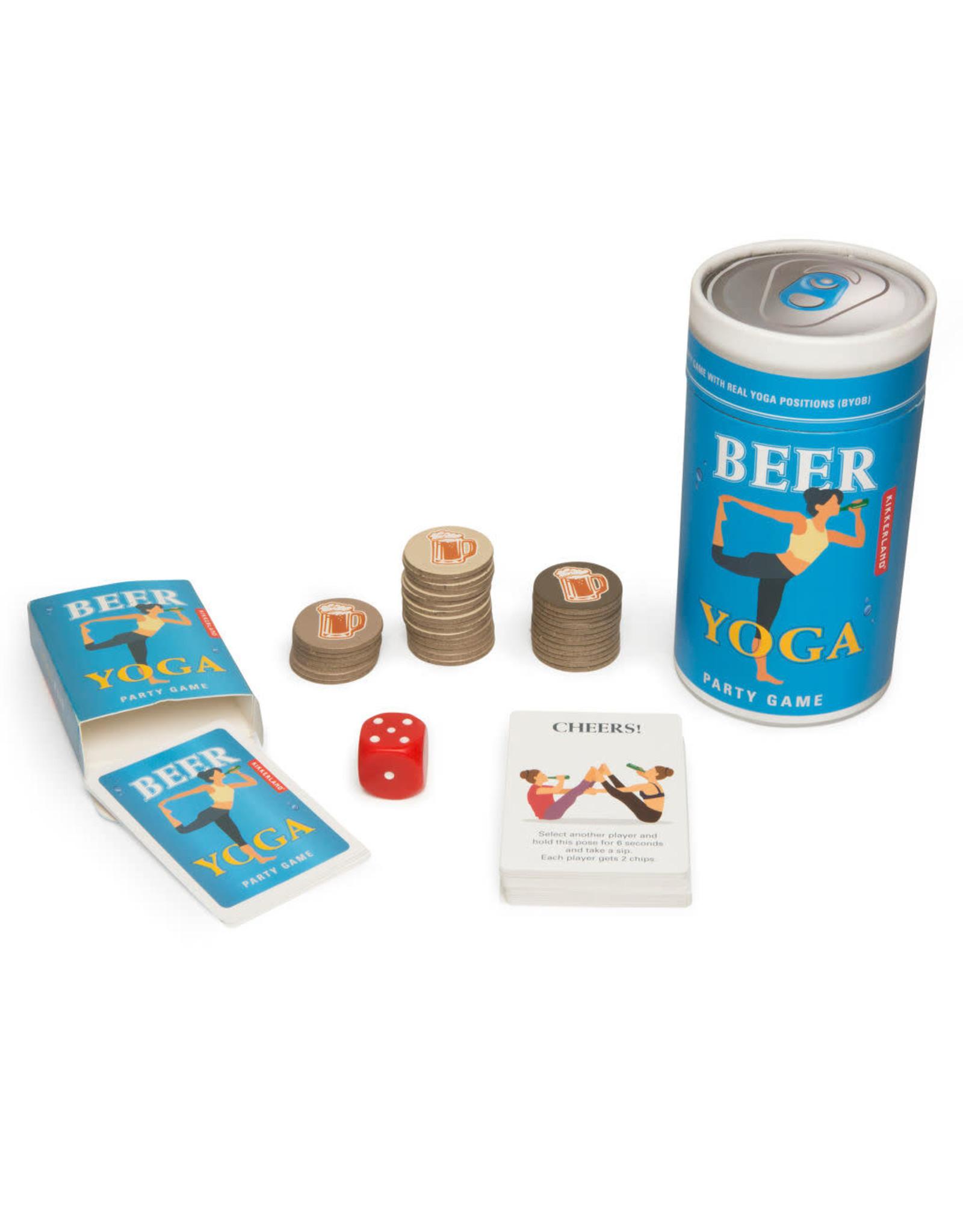 Beer Yoga game