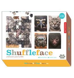 Kikkerland 5 in 1 Shuffleface puzzel