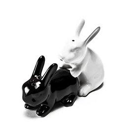 salt and pepper shaker - rabbits