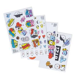 BT21 - gadget vinyl stickers
