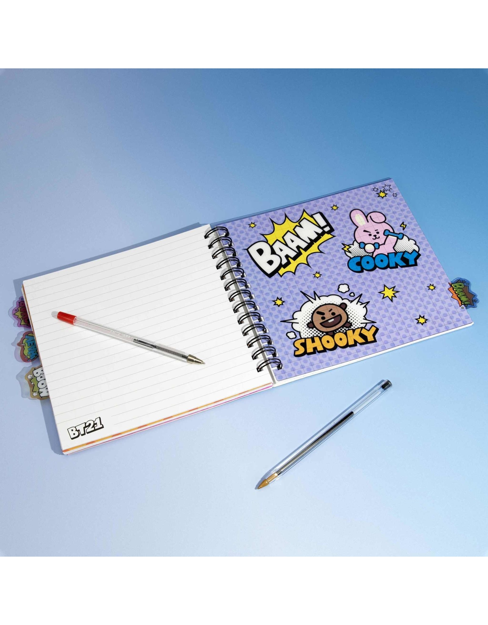 BT21 - notebook with dividers