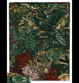 Lannoo agenda 2021 - spiraal - botanic (luipaard)