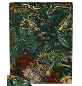 Lannoo diary 2021 - wired - botanic (leopard)