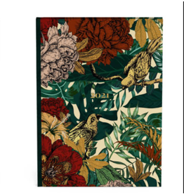 diary 2021 - planner - botanic