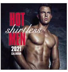 kalender 2021 - 30x30 - hot shirtless men