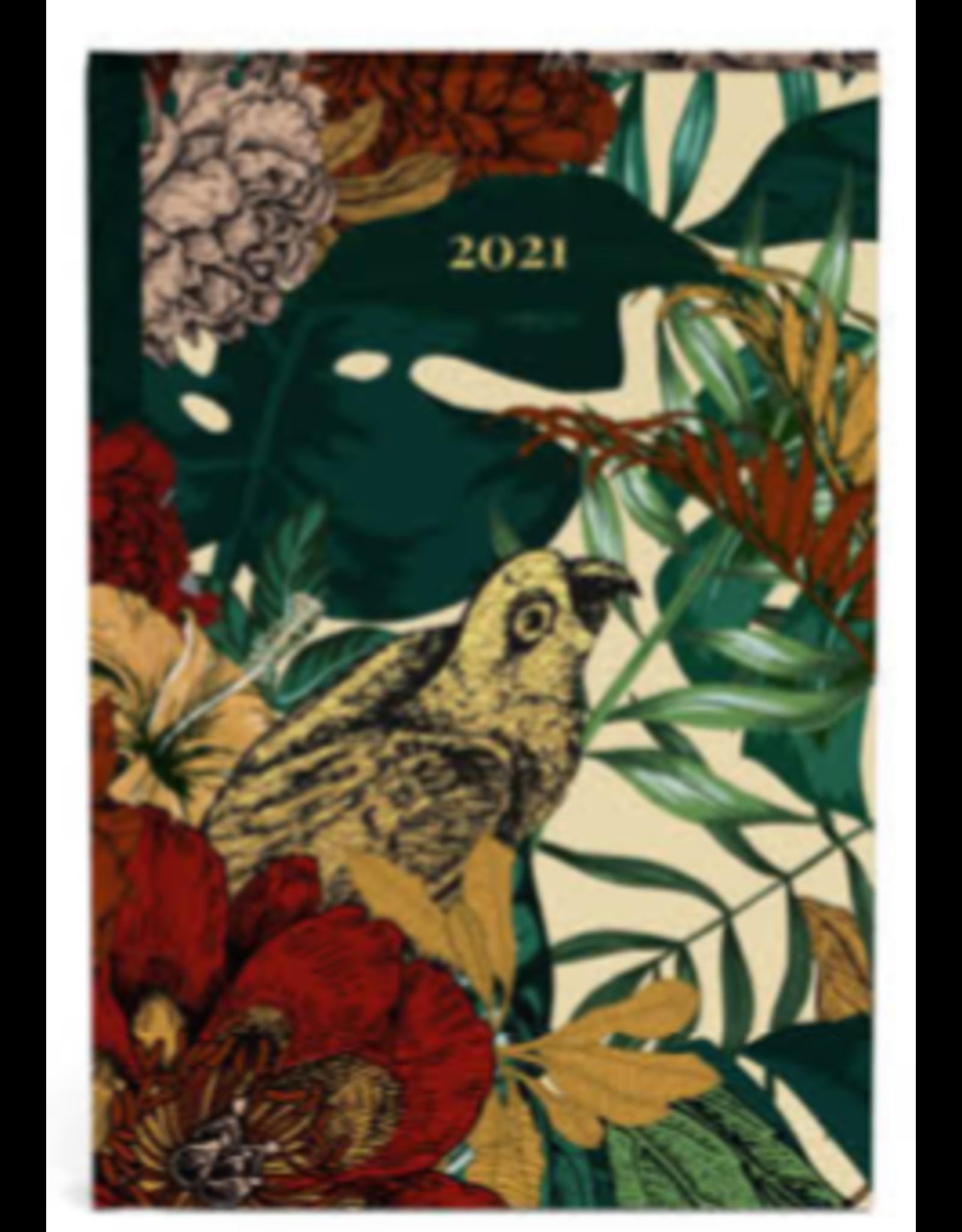 Lannoo diary 2021 - pocket - botanic (yellow)