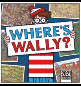 calendar 2021 - 30x30 - where is Wally