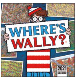 kalender 2021 - 30x30 - where is Wally