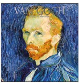 calendar 2021 - 30x30 - Van Gogh