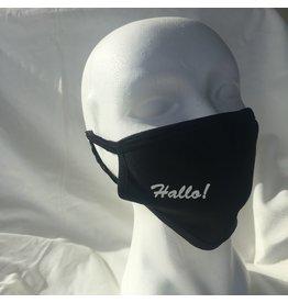 reusable face mask - Hallo!