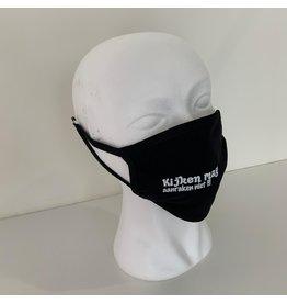reusable face mask - kijken mag, aanraken niet