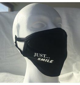 reusable face mask - Just smile