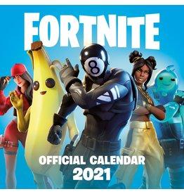 calendar 2021 - 30x30 - fortnite