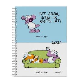 diary 2021 - desk - vis