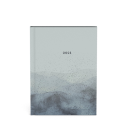agenda 2021 - mineral (blauw)