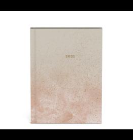agenda 2021 - mineral (roze)