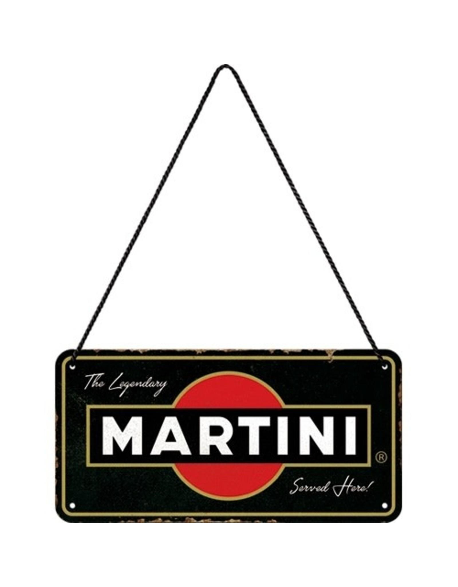 metal hanging sign - martini