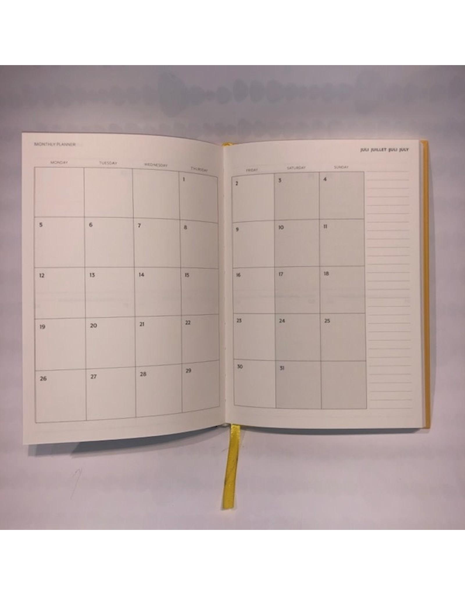 agenda 2021 - planner - botanic