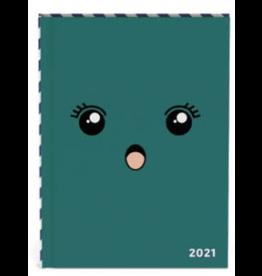 Lannoo diary 2021 - bubble cute (green)