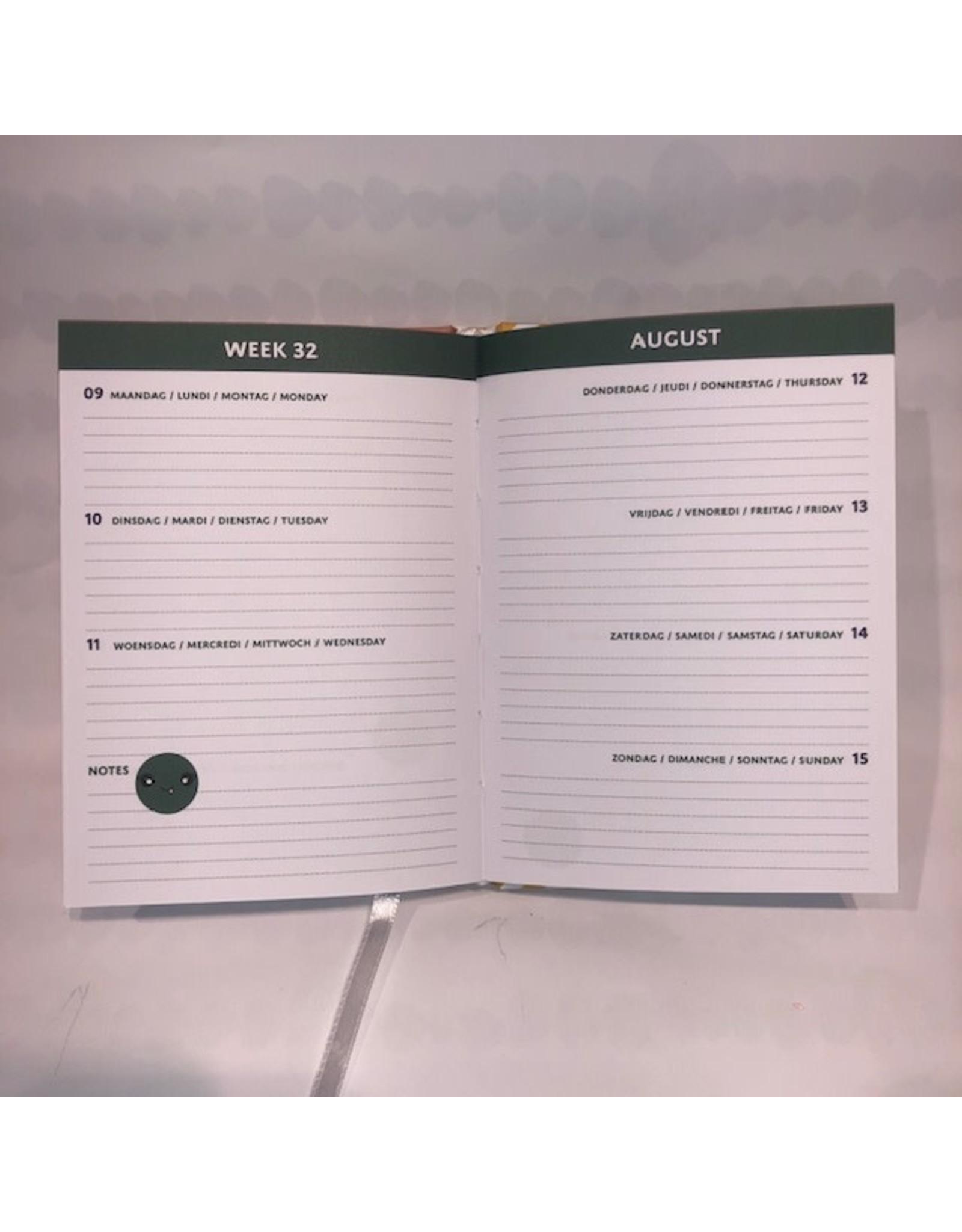 Lannoo agenda 2021 - bubble cute (groen)