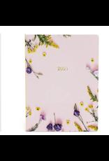 Lannoo agenda 2021 - planner - bloemen