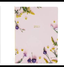 Lannoo diary 2021 - planner - flowers