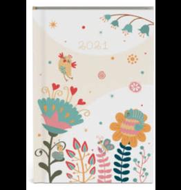 Lannoo diary 2021 - pocket - fragile (nude)