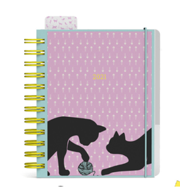 diary 2021 - DIY - cats