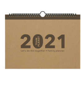 Lannoo familie kalender - team planet
