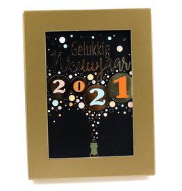 Paperclip Doos Wenskaarten - New Year 2021