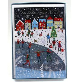 Paperclip Doos Kerstkaarten - reverie