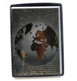 Paperclip Doos Kerstkaarten - around the world