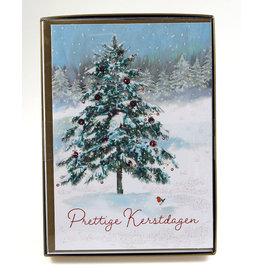 Paperclip Doos Kerstkaarten - highline - traditioneel