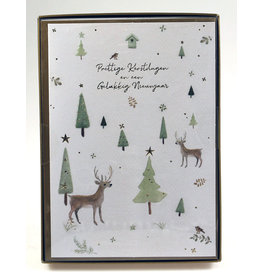 Paperclip Doos Christmas box - highline - watercolours