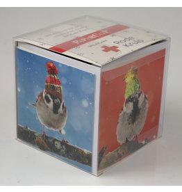 Paperclip Doos Kerstkaarten - Rode Kruis