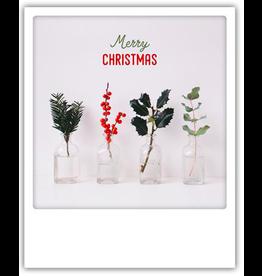 Christmas card - polaroid