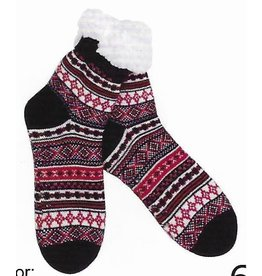 Lietho winter socks - Norway (black/red/white) (39-42)