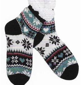 Lietho winter socks - Norway - (black/white/blue/red) (35-38)