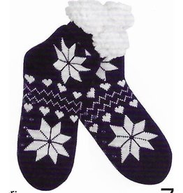 Lietho winter socks - Norway (black/white) (39-42)