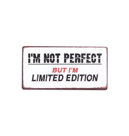 magnet - I'm not perfect but I'm limited...