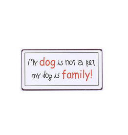 magnet - a dog is family
