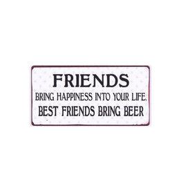 magnet - friends bring.. Best friends..beer