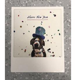 Nieuwjaar kaart - polaroid