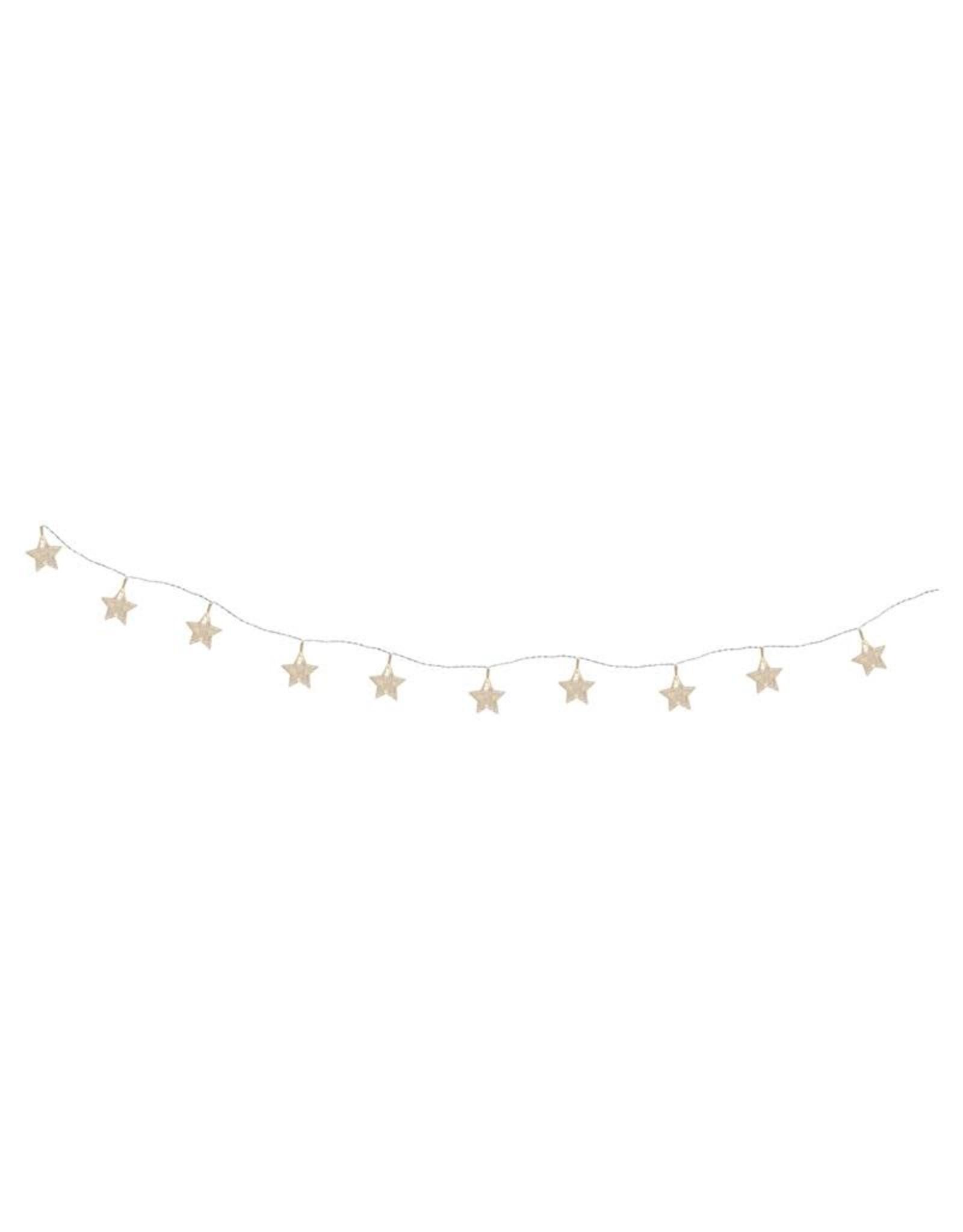 Le Studio card clips light string - stars