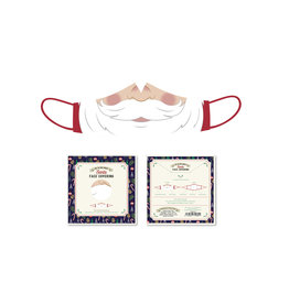 reusable face mask -  Santa