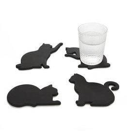 magnetische onderzetters - katten