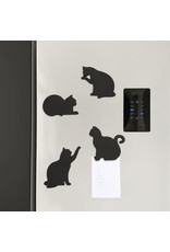 magnetic coasters - cats